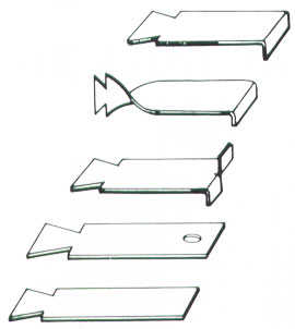 Dovetail Stone Anchors